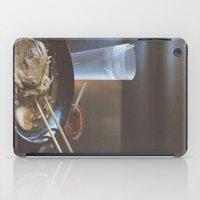 ramen iPad Cases featuring Ramen  by Warren Silveira + Stay Rustic