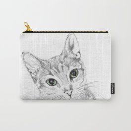 A Sketch :: Cat Eyes Carry-All Pouch