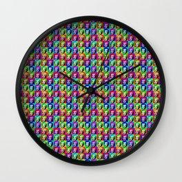 marilynmonroepattern Wall Clock