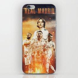 Real Madrid Champions iPhone Skin