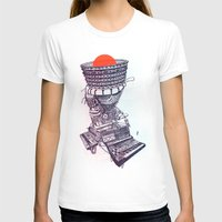 rave T-shirts featuring Rave Machine by Cam Floyd Illustration