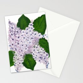 Lavender Love Stationery Cards