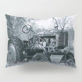 Farmer's Best Friend - B & W Pillow Sham