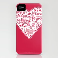 Te Amo Slim Case iPhone (4, 4s)