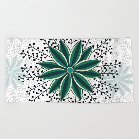 Pattern V Beach Towel
