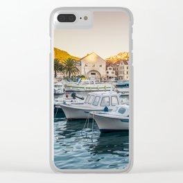 Beautiful Hvar Clear iPhone Case