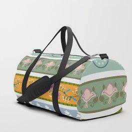 Vintage Ornament Pattern Duffle Bag