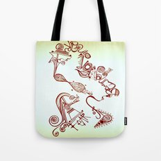 fear of being ordinary Tote Bag
