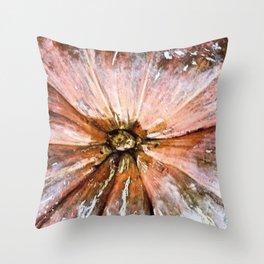 Abstract PumpKin1 Throw Pillow