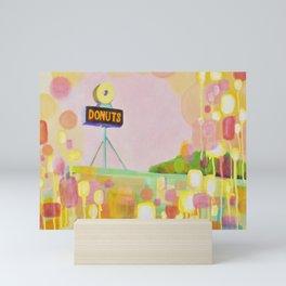 Donut Shop Mini Art Print