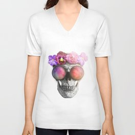 "Mortem in Gloria ""Helbi"" Unisex V-Neck"