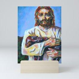 The Good Shepherd  Mini Art Print