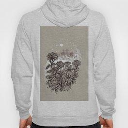 Yarrow and Zinnia Meadow Shrouded in Mist Hoody