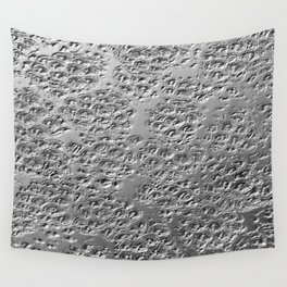 Damaged silver Wall Tapestry