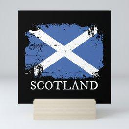 Scotland Flag Mini Art Print