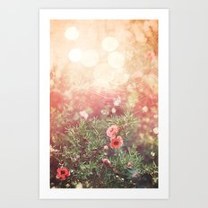 Enchanted Spiderweb Art Print