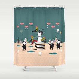 Temptation Shower Curtain