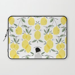 Lady of Lemon Drops Laptop Sleeve