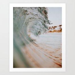 summer waves xiii Art Print