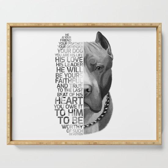 Pit Bull Print, Pit Bull Quote, Pit Bull Gift, Text Dog Portrait, Dog Art, Dog Quotes Print, Text Do by romandigitalart