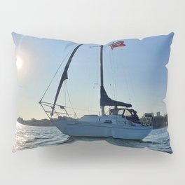 Pirate Attack - Side View Pillow Sham