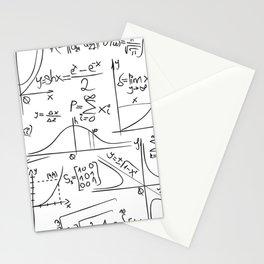Math Stationery Cards