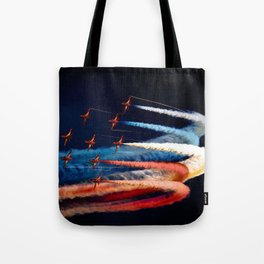 BEAUTIFUL AIRPLANE FORMATION1 Tote Bag