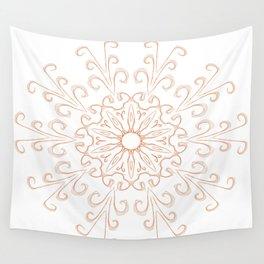 Orange peel Wall Tapestry