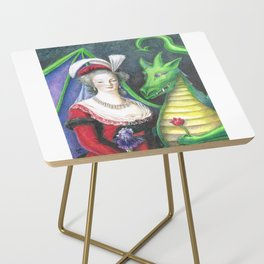 Marie Antoinette and the Dragon Side Table