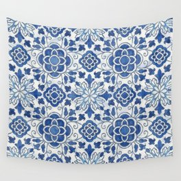 Azulejos Wall Tapestry