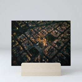 History in the making | Sagrada Familia - Barcelona, Spain Mini Art Print