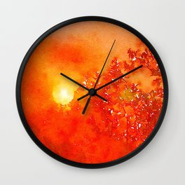 Harvest Sky Wall Clock