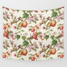 botanical fruits Wall Tapestry