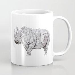 Northern White Rhino Coffee Mug