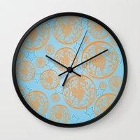 marine Wall Clocks featuring marine by Maritserg