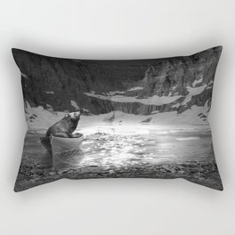 Somewhere You Are Looking At It Too Rectangular Pillow