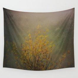 Vintage flowering bloom Wall Tapestry