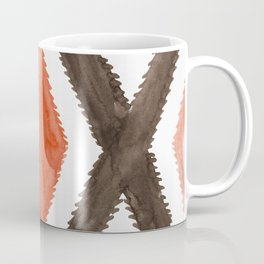Del Rio Watercolor in Burnt Orange Coffee Mug