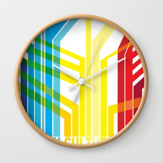 Design Culture Wall Clock