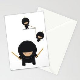 Ninja Invasion Stationery Cards