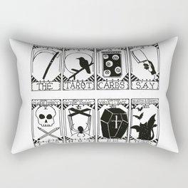 Greek Tragedy - The Wombats Rectangular Pillow