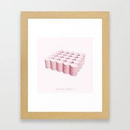 Variation Number 8 (sketch) Framed Art Print