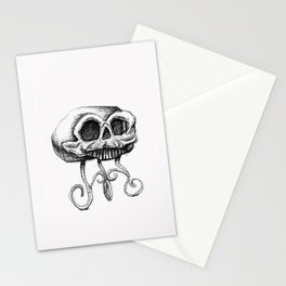 MANTLE skull Stationery Cards