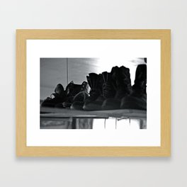 These Boots Were Made For Framed Art Print