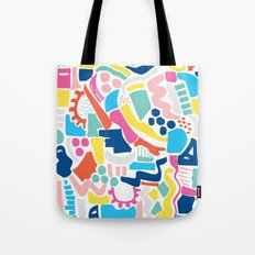 Colour Scatter Tote Bag