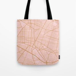 Guadalajara map, Mexico Tote Bag
