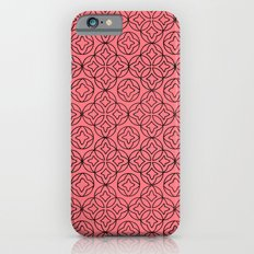 Ancient Pattern Illustration in Rose iPhone 6s Slim Case