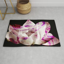 Marbled Lotus - Photography & Painting by Fluid Nature Rug