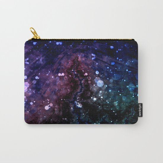 a spin on space Carry-All Pouch