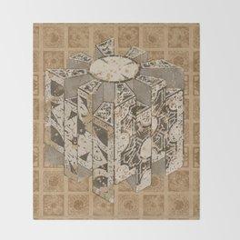 Hellraiser Puzzlebox C Throw Blanket